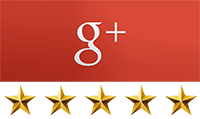 google+ 5 star rating