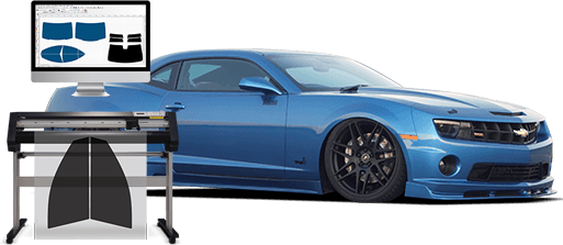 precut automobile window tint kits for sale