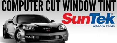 suntek computer cut window tint
