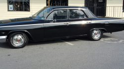 classic car with light tint job