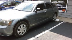 limo tint on dodge magnum