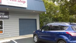 ford escape with film installed