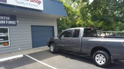 tinting applied to nissan titan