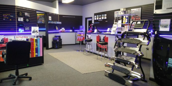 lil tint shop showroom right