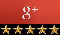 google+ 5 star rating