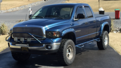 dodge ram with tint and other accessories