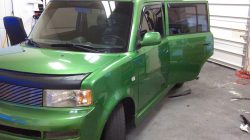 scion xb with windshield strip